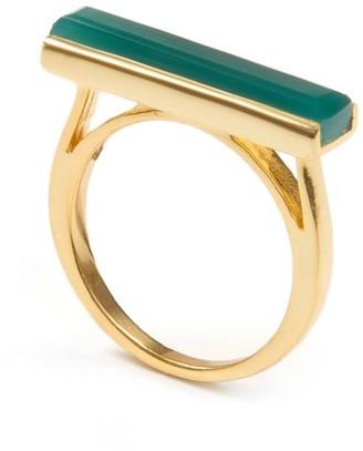 Urban Ring Green Onyx