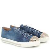 Miu Miu DENIM SNEAKERS
