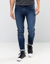 Cheap Monday Jeans Tight Stretch Skinny Fit Deep Indigo Dark Wash