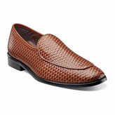 Stacy Adams Santoro Mens Leather Moc-Toe Loafers