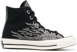 Converse Glitter Flame Chuck Taylor All-Star sneakers