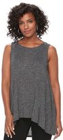 Apt. 9 Women's Marled High-Low Tank