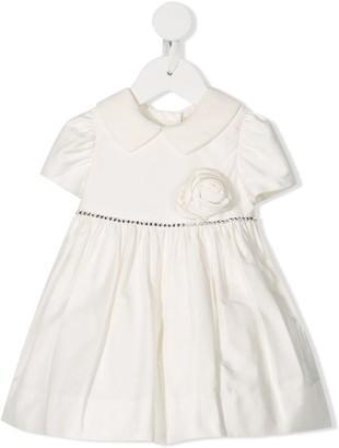 MonnaLisa Short Sleeve Full-Skirt Dress