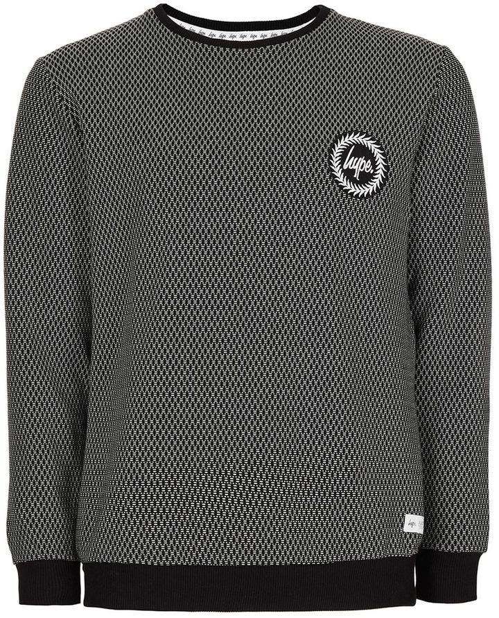 Hype Black Sweatshirt*