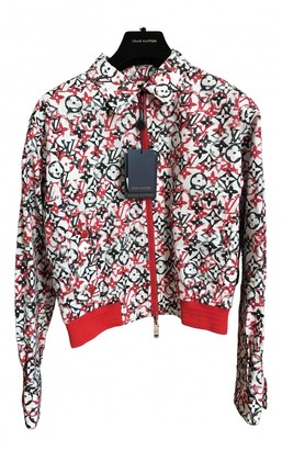 Louis Vuitton Red Cotton Jackets