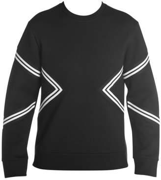 Neil Barrett Modernist Varsity Sweatshirt