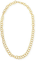 """Stephanie Kantis 24k Gold-Plated Bronze Classic Link Necklace, 42"""""""