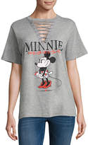 Freeze Minnie Mouse Lace Up Tee - Juniors