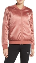 adidas Women's Trefoil Satin Jacket