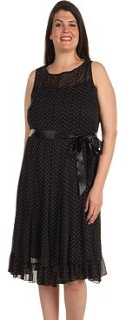 Jessica Howard Women's 3/4 Sleeve Side Ruched Sheath Dress
