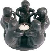 Casa Uno Circle of Friends Drum Tea Light Holder