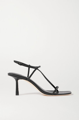 Studio Amelia 2.5 Leather Sandals - Black