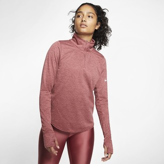 Nike Women's Half-Zip Running Top Sphere Element