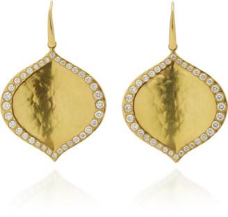 Amrapali Pallavi 18K Gold Diamond Earrings
