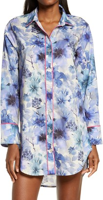 The Lazy Poet Sissy Floral Cotton Nightshirt
