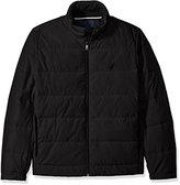 Nautica Men's Quilted Down-Blend Jacket