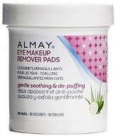 Almay Gentle Soothing & De-Puffing Eye Makeup Remover Pads 80 ea by