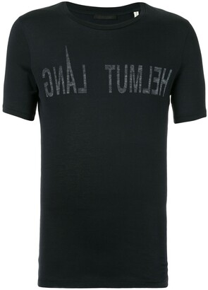 Helmut Lang Pre Owned 2000's logo print T-shirt