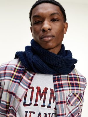 Tommy Hilfiger Chunky Knit Organic Cotton Scarf