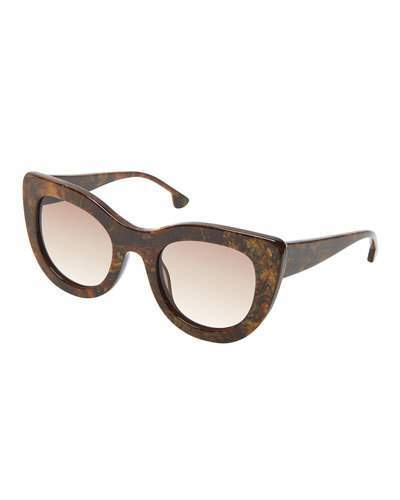 Alice + Olivia Delancey Cat-Eye Sunglasses