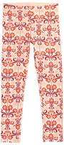 Tea Collection Girl's Dahlia Floral Print Leggings