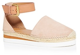 See by Chloe Women's D'Orsay Espadrille Flats