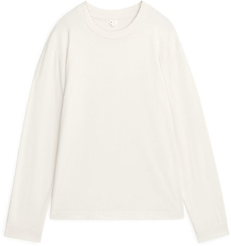 Arket Longsleeve Organic Cotton T-Shirt