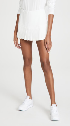 Tory Sport Pleated Hem Tennis Skirt