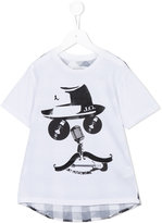 John Galliano printed T-shirt - kids - Cotton - 4 yrs
