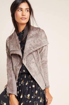 Blank NYC Blanknyc Irina Sueded Moto Jacket