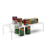 Container Store Large Expanding Shelf White
