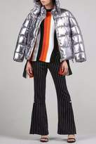 BEULAH STYLE Silver Puffy Jacket