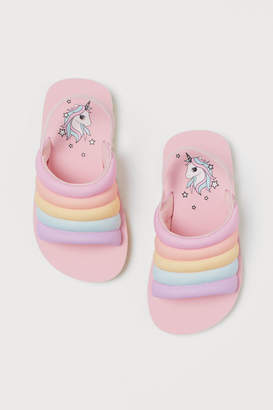 H&M Patterned Pool Shoes - Pink