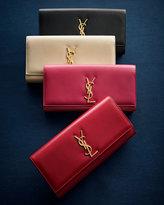 Saint Laurent Cassandre Clutch Bag, Red