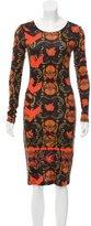 Preen Printed Knit Midi Dress w/ Tags