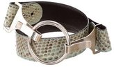 Gucci Python Waist Belt