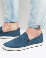 Lacoste Tombre Perforated Suede Espadrilles