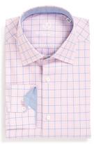 Bugatchi Twill Trim Fit Dress Shirt