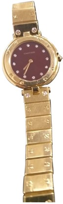 Cartier Yellow Yellow gold Watches