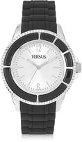 Versace Versus Tokyo 42 Stainless Steel Women's Watch w/Rubber Strap