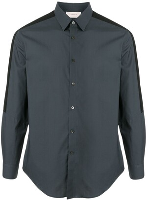 Cerruti Long Sleeve Side Stripe Shirt