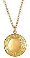 Privileged Locket Charm Necklace