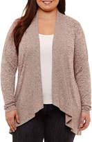 Boutique + + Long Sleeve Cardigan - Plus
