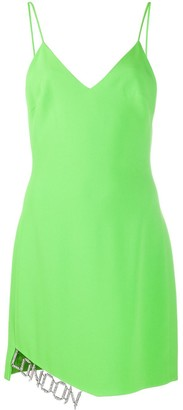 David Koma Strappy Party Dress