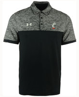 Under Armour Men's Cincinnati Bearcats Podium Polo Shirt