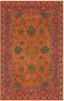 Liora Manné Area Rug, Petra 9054/17 Agra Mandarin 5' x 8'
