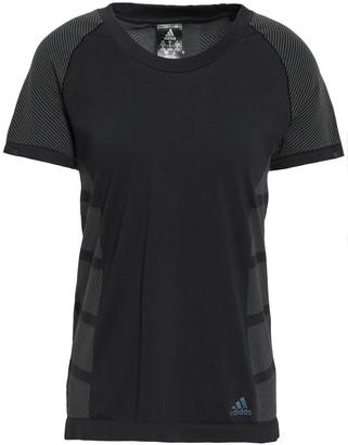 adidas Striped Tech-jersey T-shirt