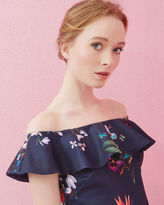 Ted Baker Tropical Oasis Bardot top