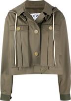 Loewe military hooded jacket