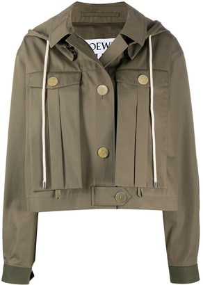 Loewe Military Hooded Jacket